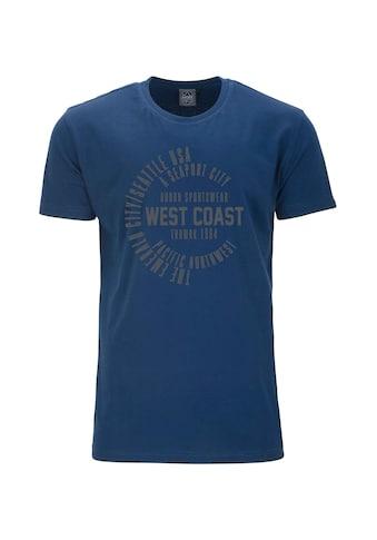 AHORN SPORTSWEAR T - Shirt mit stylishem Print kaufen