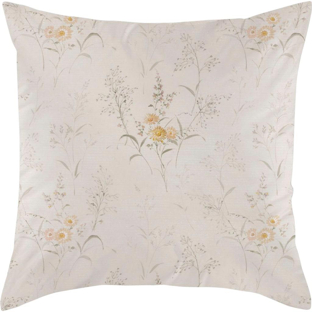 Curt Bauer Kissenbezug »Softly«, (1 St.), florales Motiv