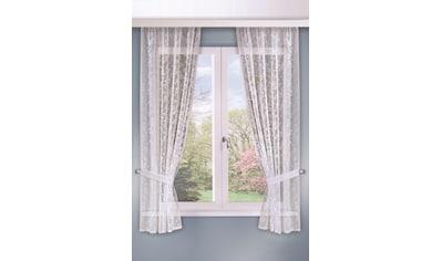 WILLKOMMEN ZUHAUSE by ALBANI GROUP Vorhang »Bozen«, Landhaus -Garnitur kaufen