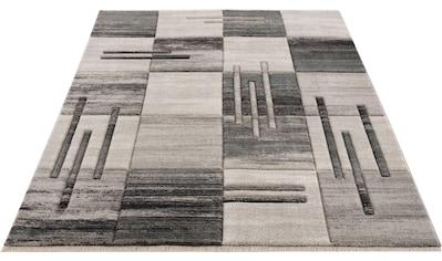 my home Teppich »Beliz«, rechteckig, 9 mm Höhe, mit Konturenschnitt, Wohnzimmer kaufen