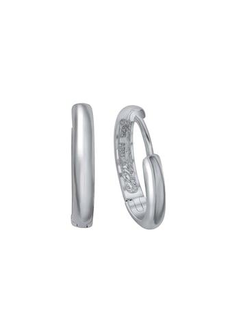 Vivance Paar Creolen »Creolen 925 Silber rhodiniert«, Oberfläche: Glänzend kaufen