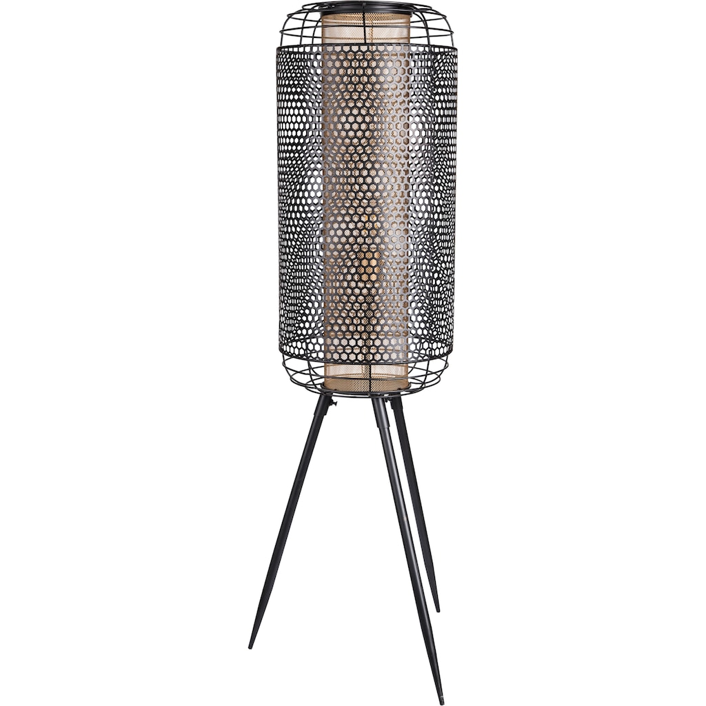 Nino Leuchten Stehlampe »Denton«, E27, Warmweiß, moderne Stehleuchte, inkl. wechselbarem LED-Leuchtmittel, Höhe 111 cm, Ø 30 cm