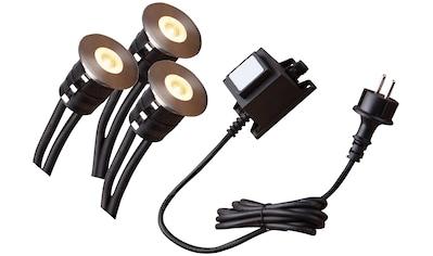 HEISSNER Set: LED - Spotleuchte »Smart Lights L450 - 00«, 3x1 Watt, warmweiß, mit Trafo kaufen