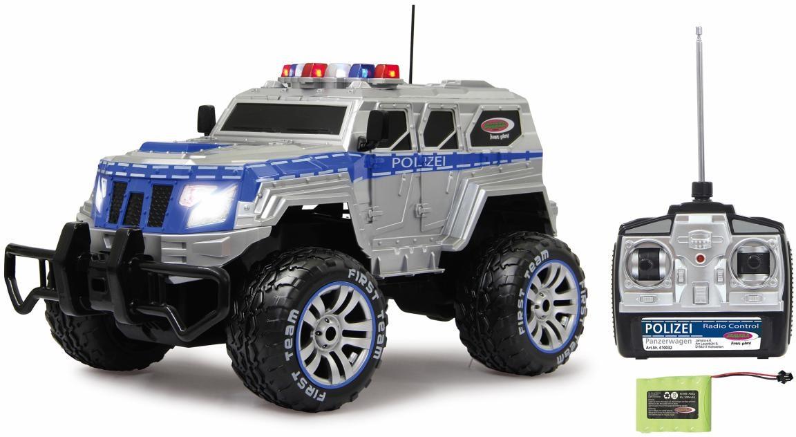 jamara rc fahrzeug polizei panzerwagen komplettset auf. Black Bedroom Furniture Sets. Home Design Ideas