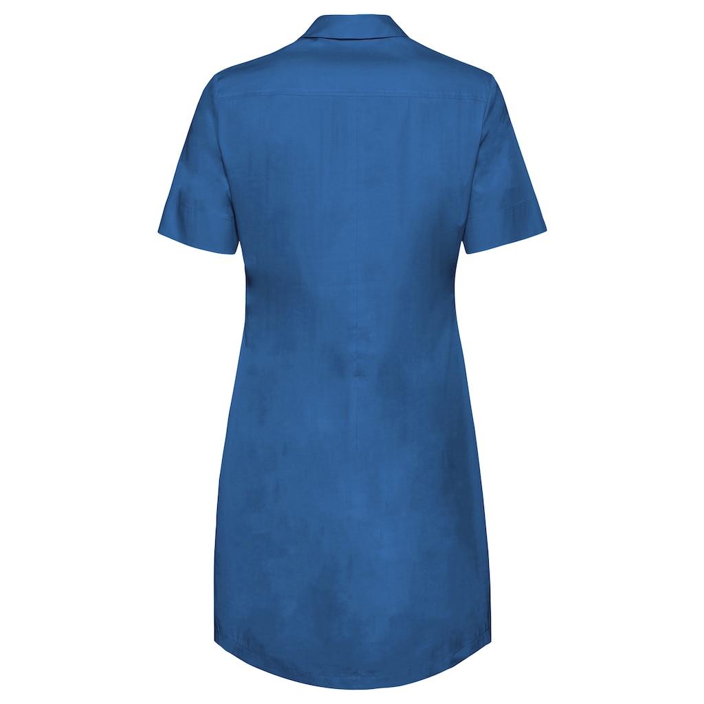 bianca Hemdblusenkleid »DORINE«, in der aktuellen Trendfarbe mit cooler Knopfleiste