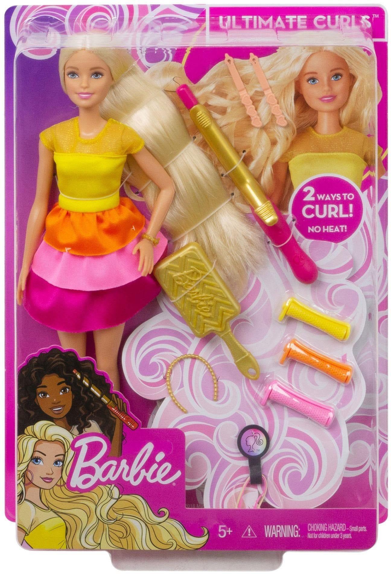 """Mattel Anziehpuppe """"Barbie Locken-Style Puppe blond"""" Technik & Freizeit/Spielzeug/Puppen/Anziehpuppen"""
