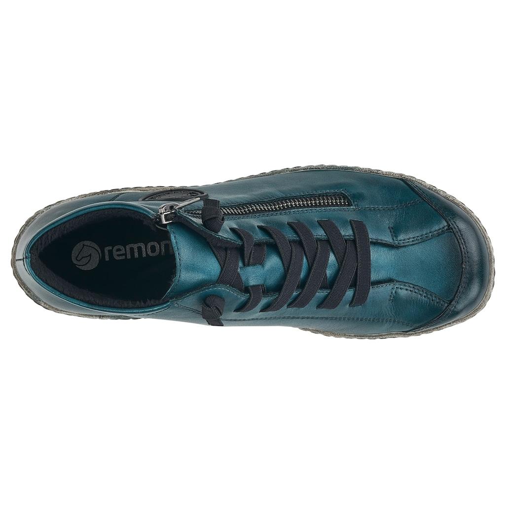 Remonte Sneaker, mit Außenreißverschluss