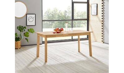 Woltra Esstisch »Skagen«, Massivholz, mit Auszugsfunktion kaufen