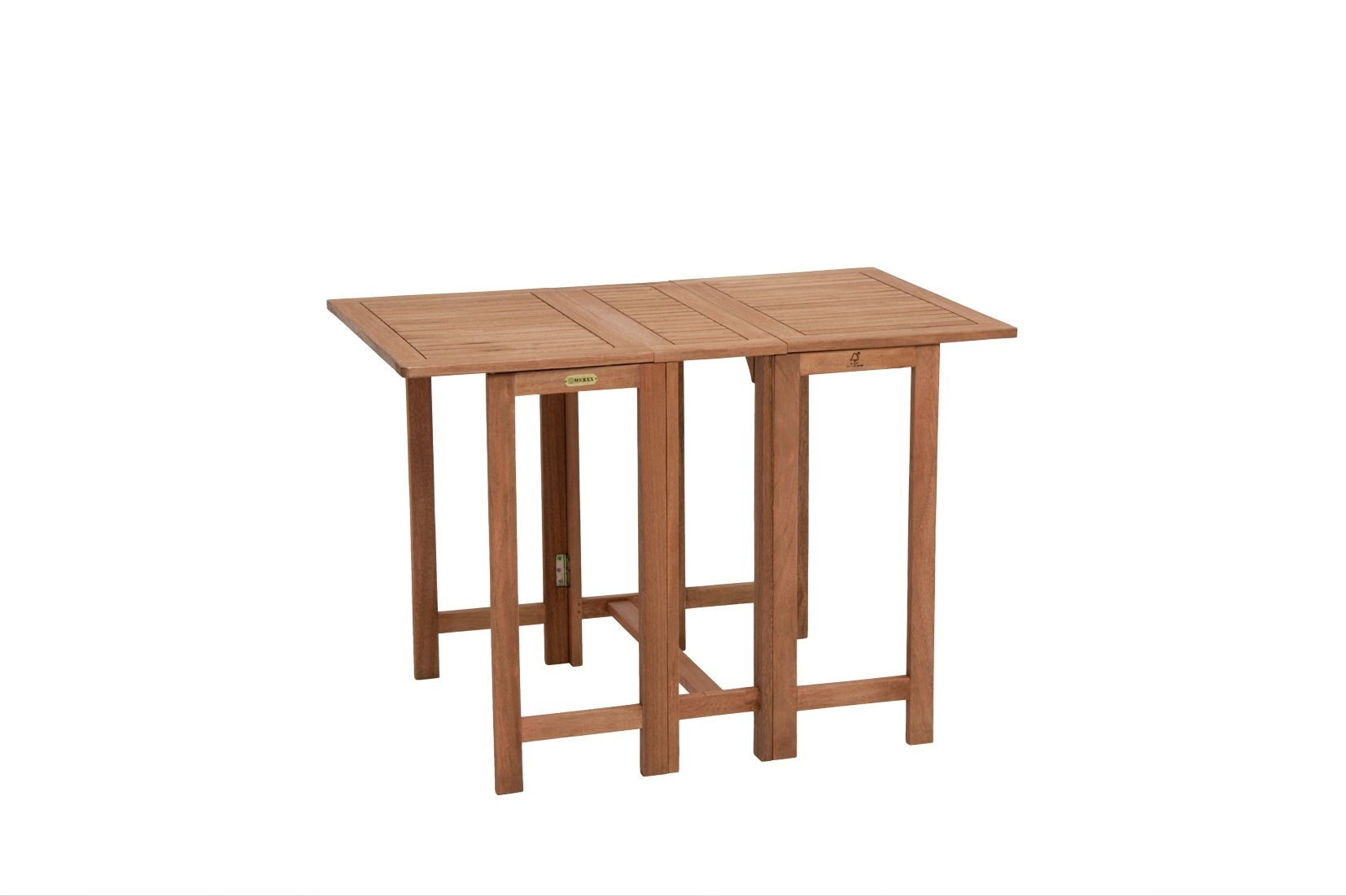 merxx gartentisch holz eukalyptusholz klappbar 107x65. Black Bedroom Furniture Sets. Home Design Ideas