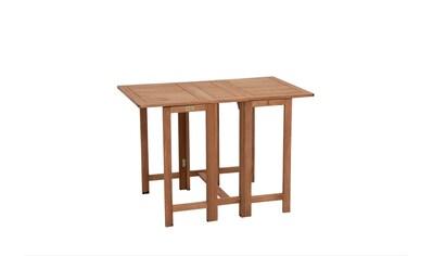 MERXX Gartentisch »Holz«, Eukalyptusholz, klappbar, 107x65 cm kaufen