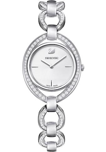 Swarovski Schweizer Uhr »Stella Uhr, Metallarmband, weiss, silberfarben, 5376815« kaufen