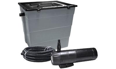 HEISSNER Teichfilter »SMARTLINE HLF6000 - Set«, mit UVC - Klärer, Förderleistung: 1.000 l/h kaufen