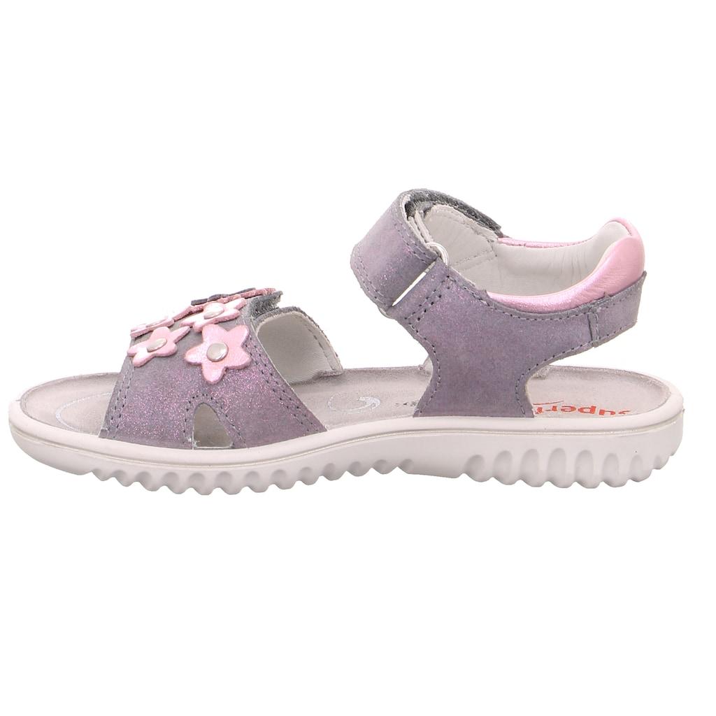 Superfit Sandale »Sparkle«, Mit WMS: Weiten-Meßsystem: mittel