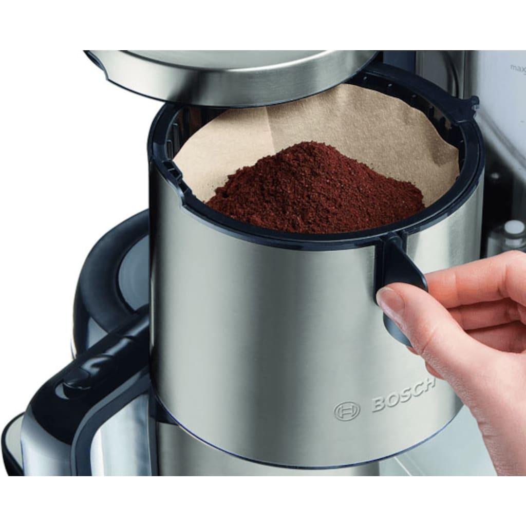 BOSCH Filterkaffeemaschine »TKA8A681 Styline«, Papierfilter, 1x4, mit Thermokanne