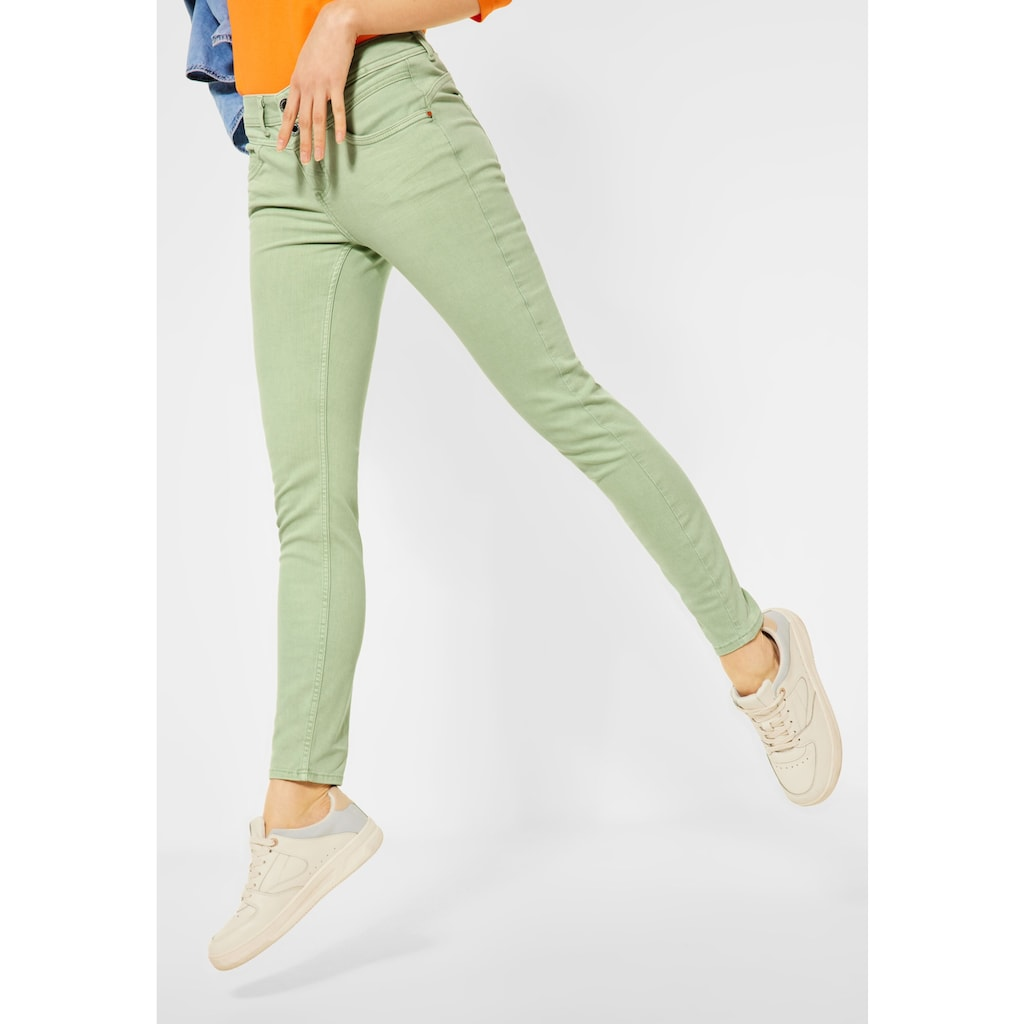 STREET ONE Slim-fit-Jeans, 5-Pockets Style