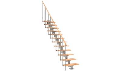DOLLE Mittelholmtreppe »Cork«, Buche, 12 Stufen, versch. Ausführungen kaufen
