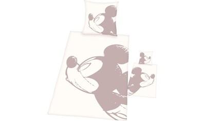 Wendebettwäsche »Disney´s Mickey Mouse«, Walt Disney kaufen