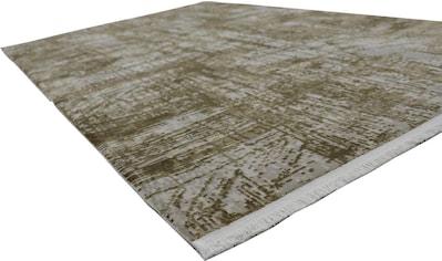 RESITAL The Voice of Carpet Teppich »Couture 100«, rechteckig, 8 mm Höhe, Kurzflor,... kaufen