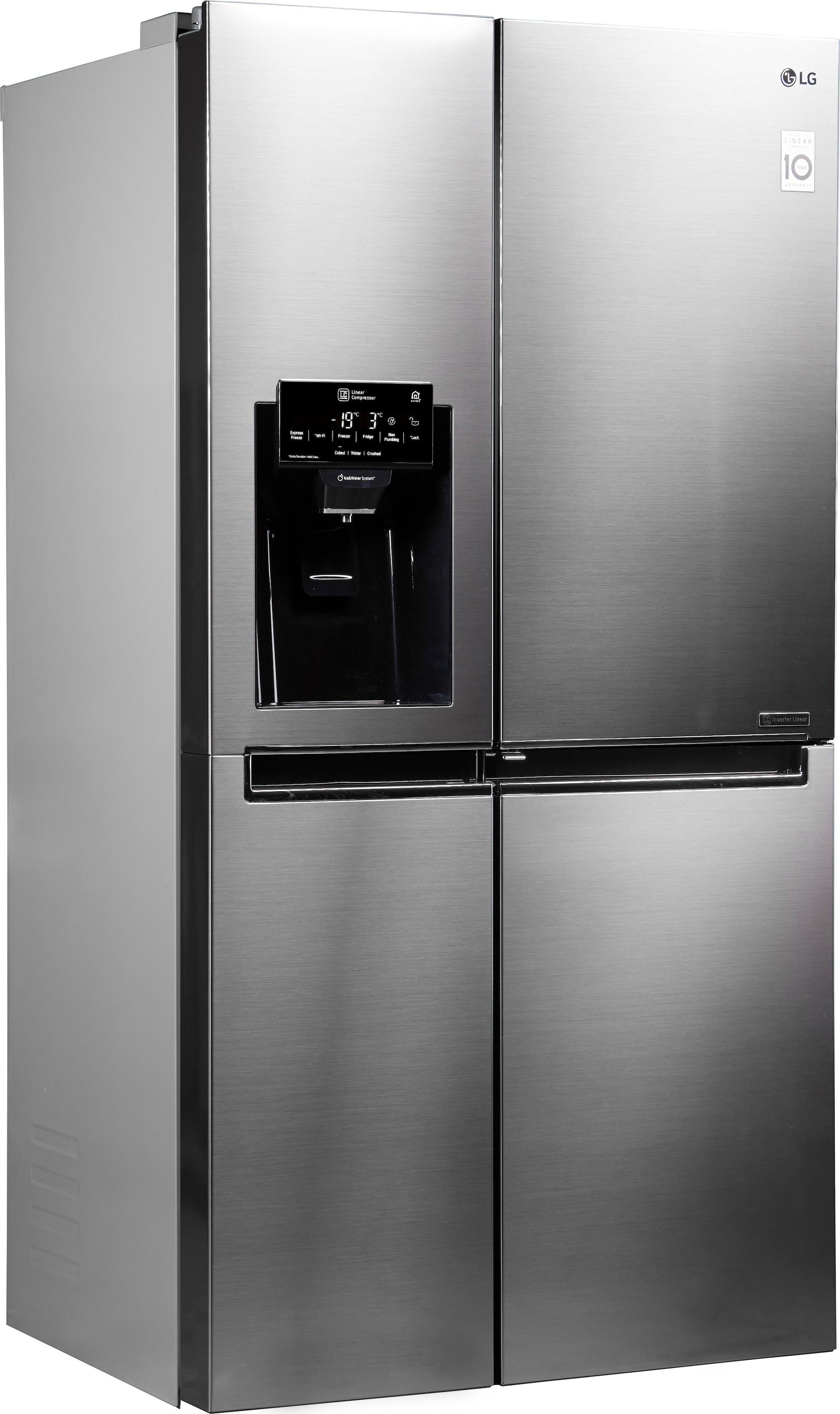 Side By Side Kühlschrank 60 Cm Tief : Side by side kühlschrank auf rechnung raten kaufen