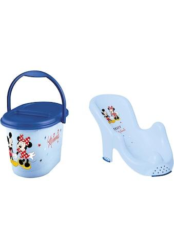 keeeper Badesitz »Kinderpflege-Set Mickey Mouse«, Badesitz und Windeleimer; Made in Europe kaufen
