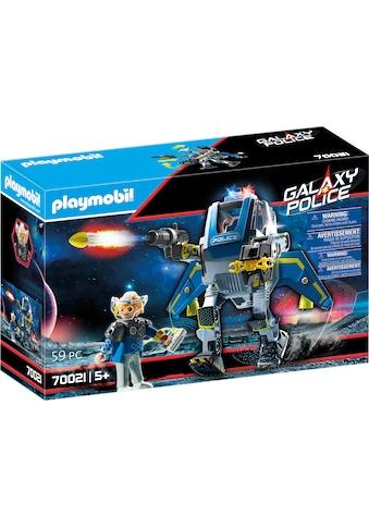 "Playmobil® Konstruktions - Spielset ""Galaxy Police - Roboter (70021), Galaxy Police"", Kunststoff kaufen"