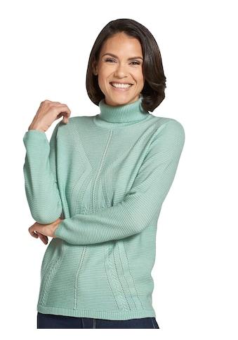 Classic Basics Pullover mit Zopfmuster kaufen