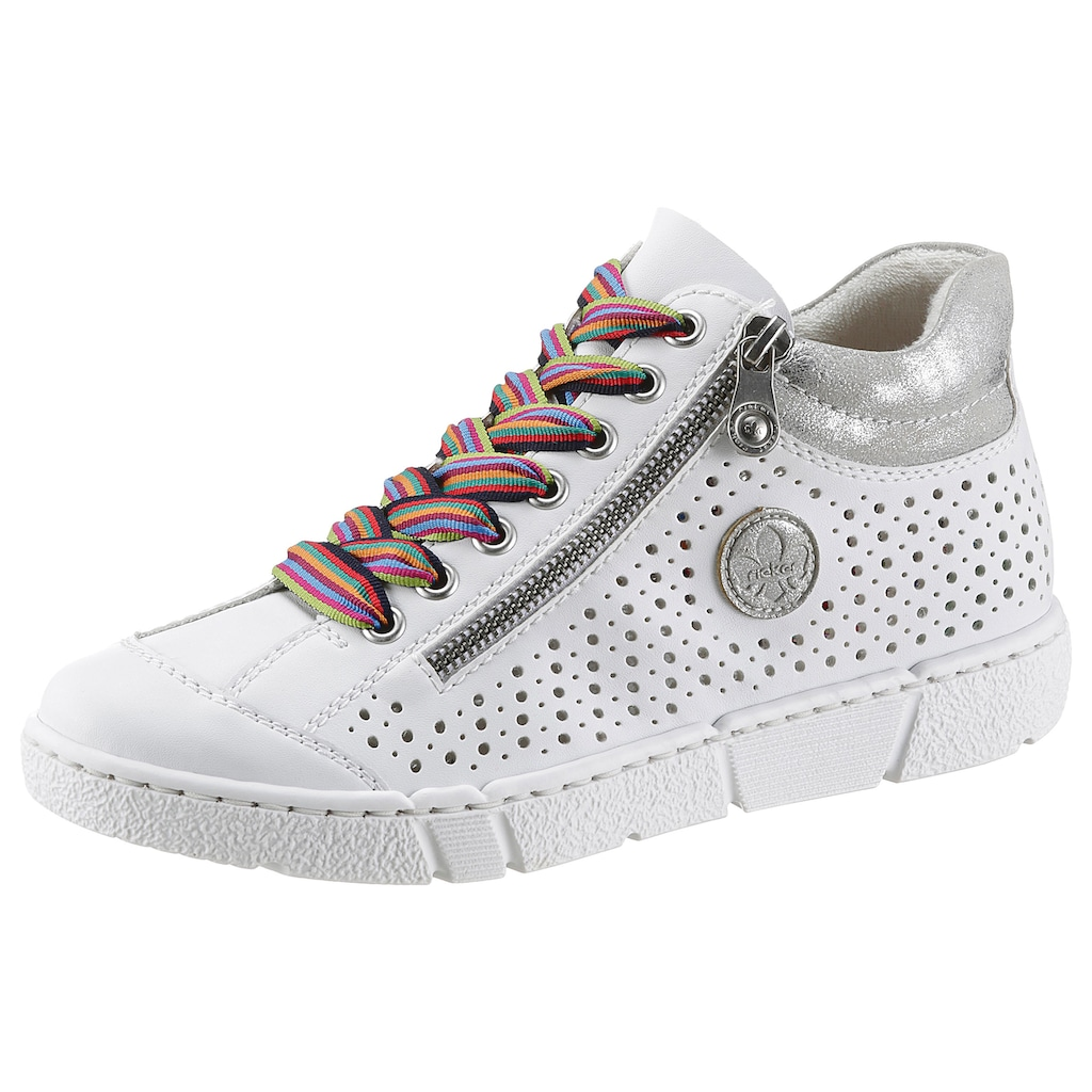 Rieker Sneaker, mit luftdurchlässiger Perforation