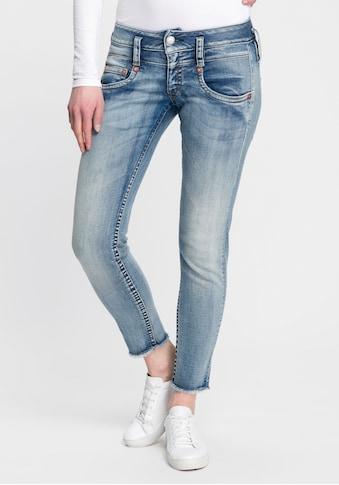 Herrlicher Slim-fit-Jeans »PITCH SLIM CROPPED«, umweltfreundlich dank Kitotex Technology kaufen