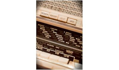 Art & Pleasure Metallbild »Record station«, Musiker kaufen