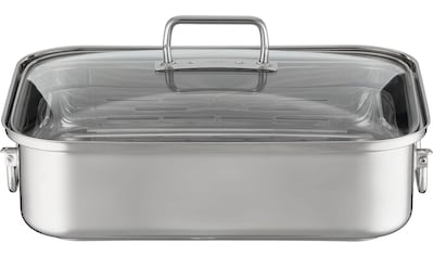 RÖSLE Bräter »EXPERTISO«, Edelstahl 18/10, (1 tlg.), mit Glasdeckel, spülmaschinen-... kaufen