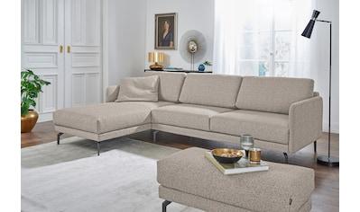 hülsta sofa Ecksofa »hs.450«, mit schmaler Armlehne kaufen