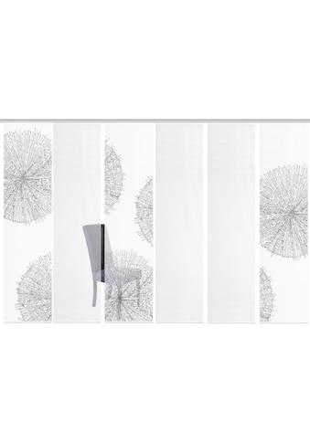 Vision S Schiebegardine »6ER SET CRESTON«, HxB: 260x60, Schiebevorhang 6er Set Digitaldruck kaufen