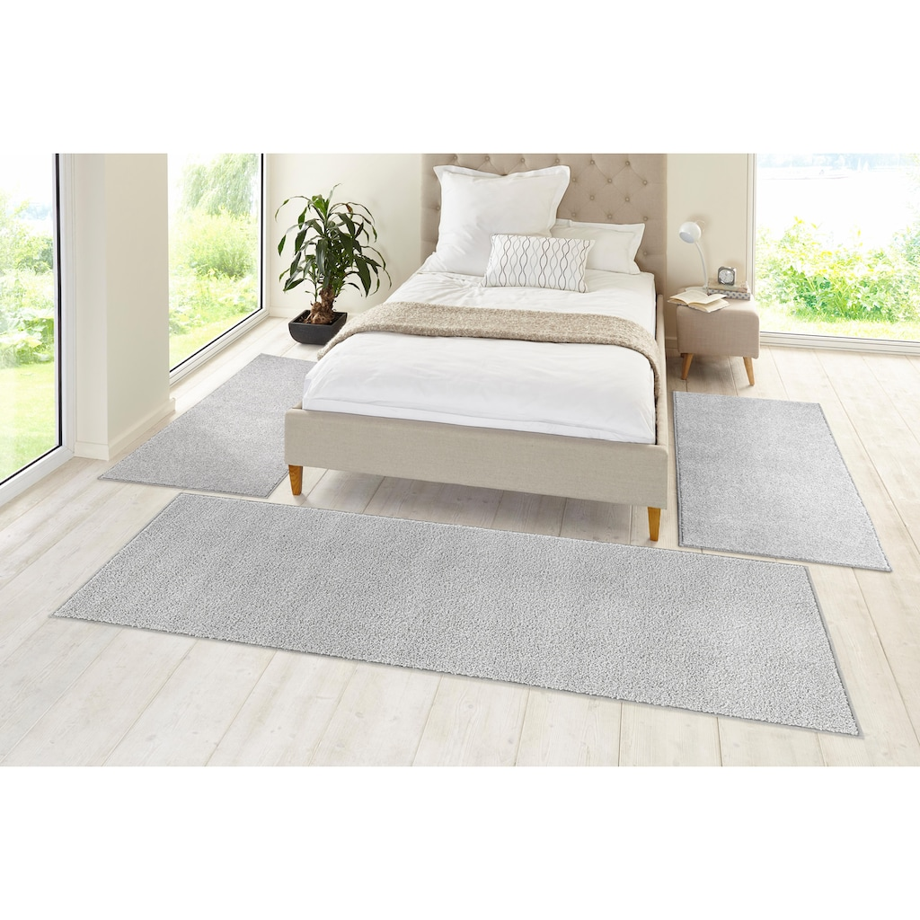 Bettumrandung »Pure 100« HANSE Home, Höhe 13 mm (Packung, 3-tlg.)
