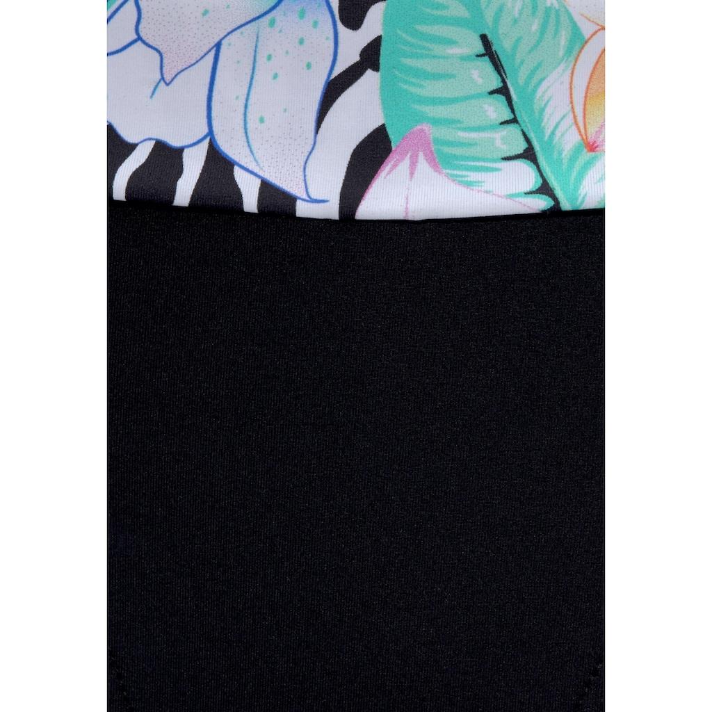 LASCANA Bügel-Bikini, mit trendigem Animalprint