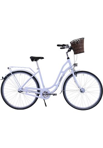HAWK Bikes Cityrad »HAWK City Classic Joy White«, 3 Gang, Shimano, Nexus Schaltwerk kaufen