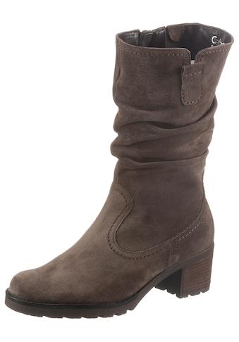 Gabor Stiefel »ST. TROPEZ«, mit Raffungen kaufen