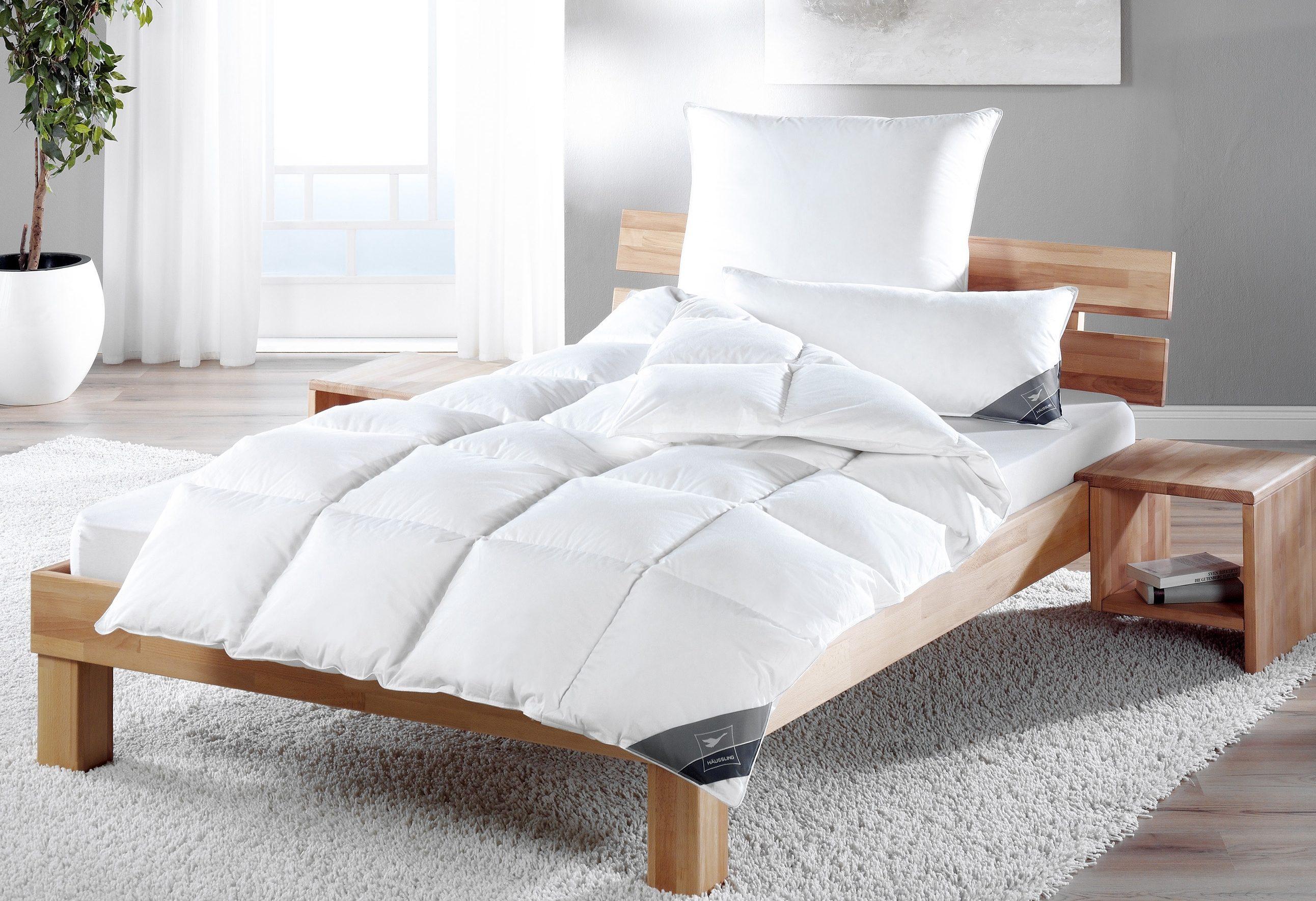 Daunenbettdecke Kuscheltraum Haeussling warm Füllung: 60% Daunen 40% Federn Bezug: 100% Baumwolle
