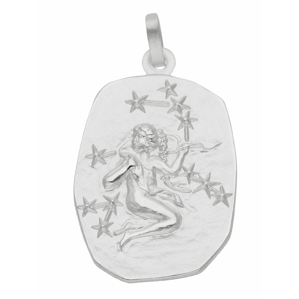 Adelia´s Kettenanhänger »925 Silber Sternzeichen Anhänger Jungfrau«