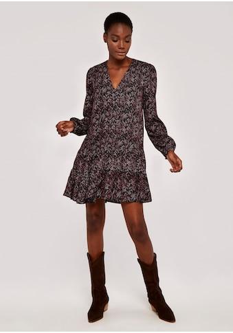 Apricot Druckkleid »Zebra Babydoll Dress«, mit Knöpfen am Ausschnitt kaufen