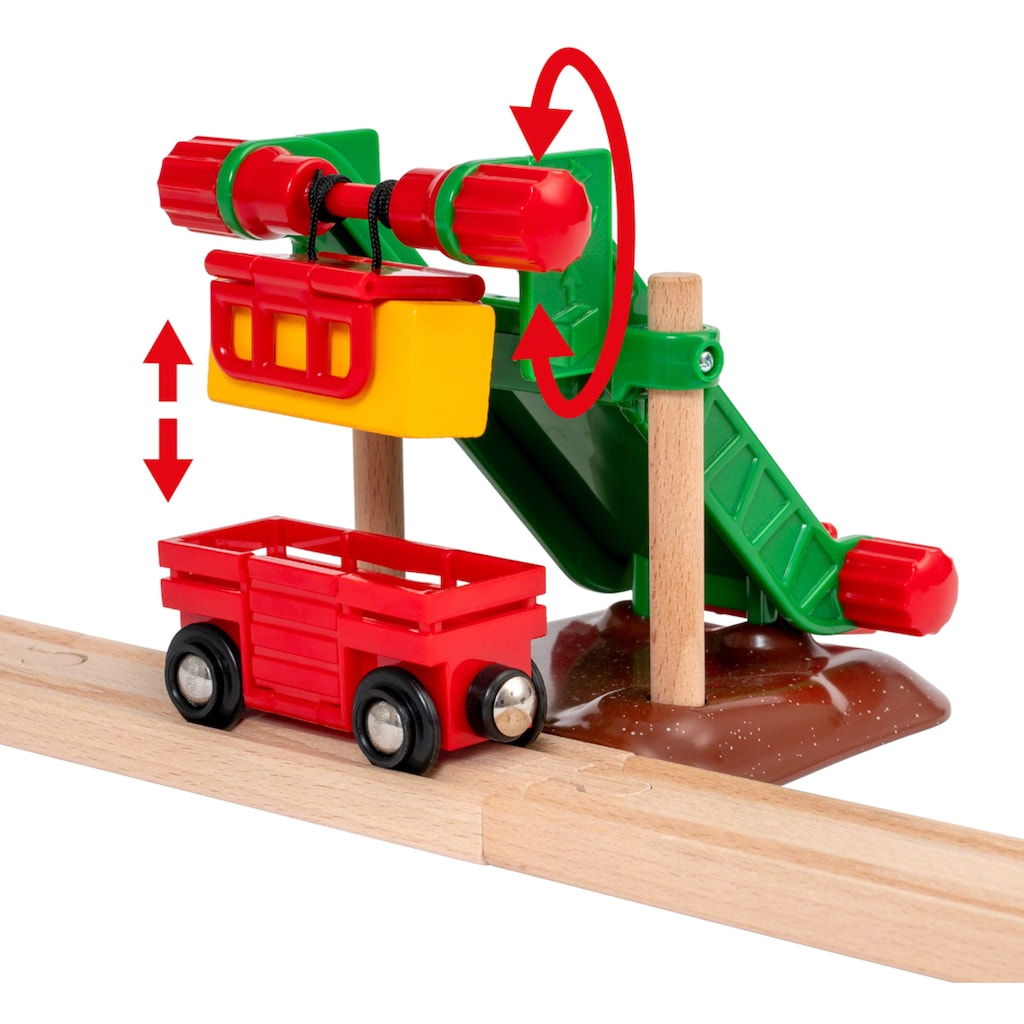 BRIO® Spielzeug-Eisenbahn »BRIO® Großes Bahn Bauernhof-Set«, FSC® - schützt Wald - weltweit