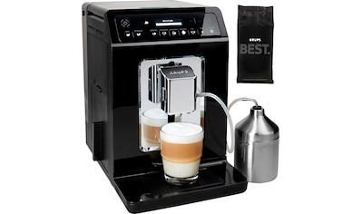 Krups Kaffeevollautomat »Evidence EA8918«, Doppel-Cappuccino-Funktion, 15... kaufen