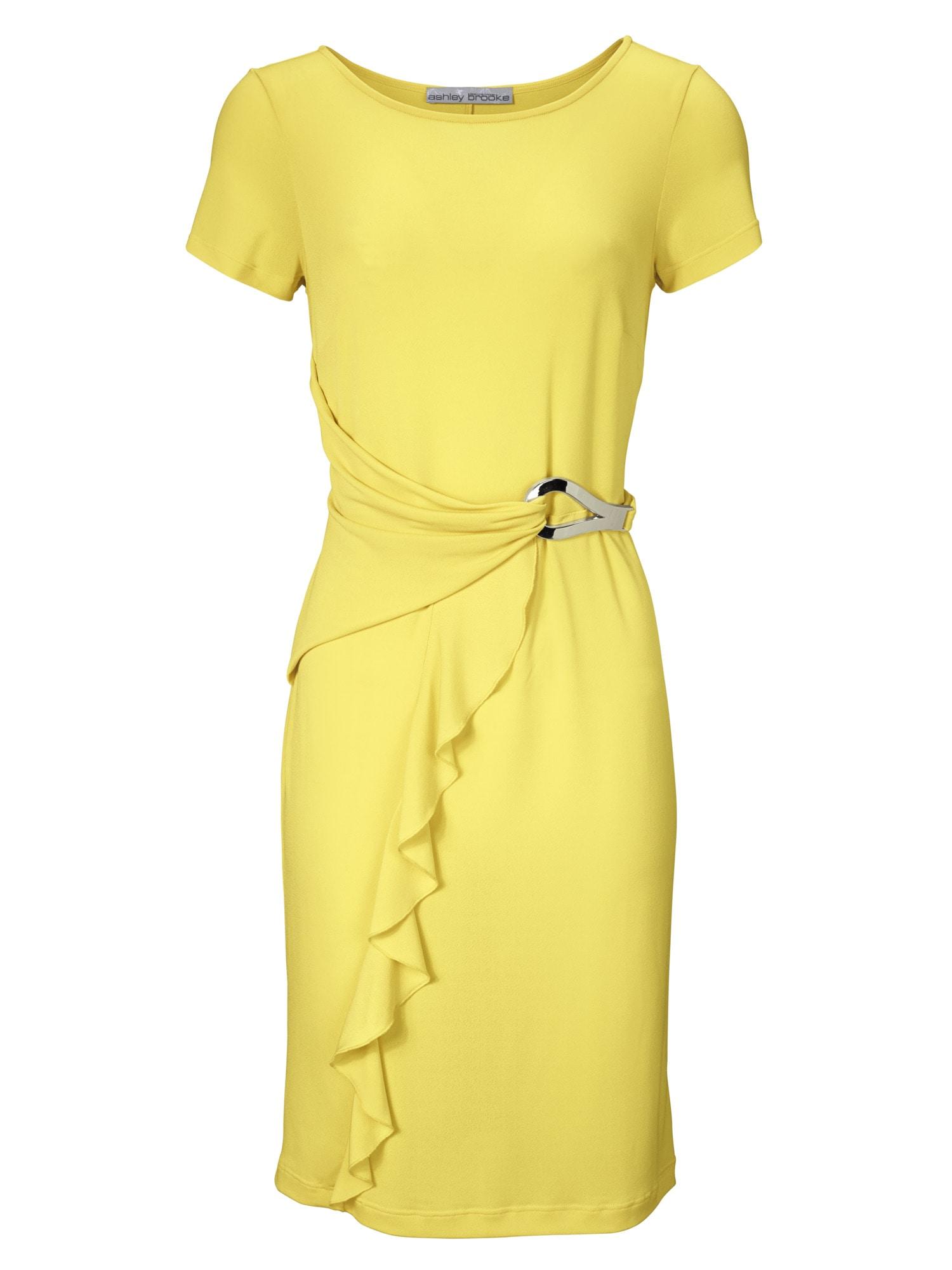 heine TIMELESS Jerseykleid mit Zierschließe