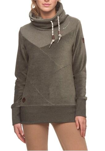 Ragwear Sweater »VIOLETA VELVET«, in glänzender Samt-Optik kaufen
