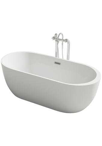 HOME DELUXE Badewanne »Rom«, B: 170 cm, freistehend kaufen