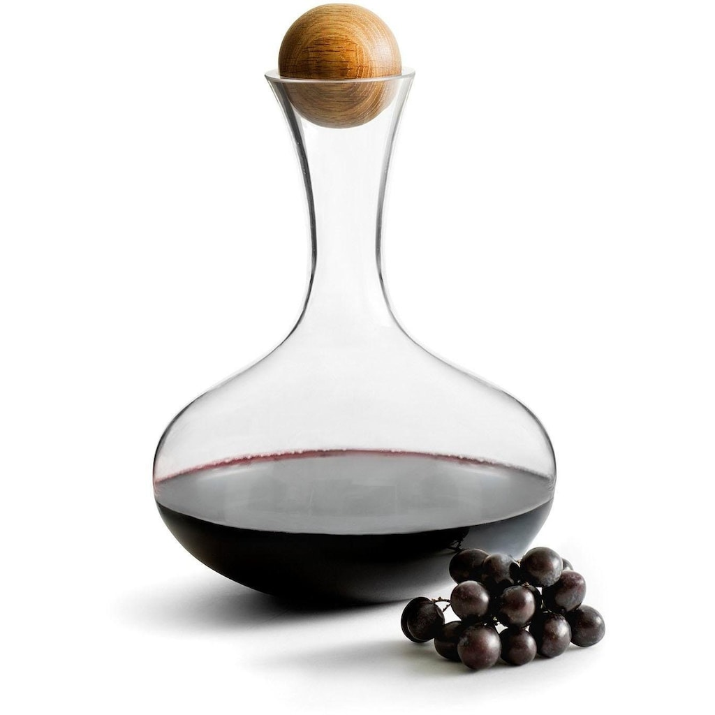 sagaform Dekanter, für Rotwein, 2 Liter