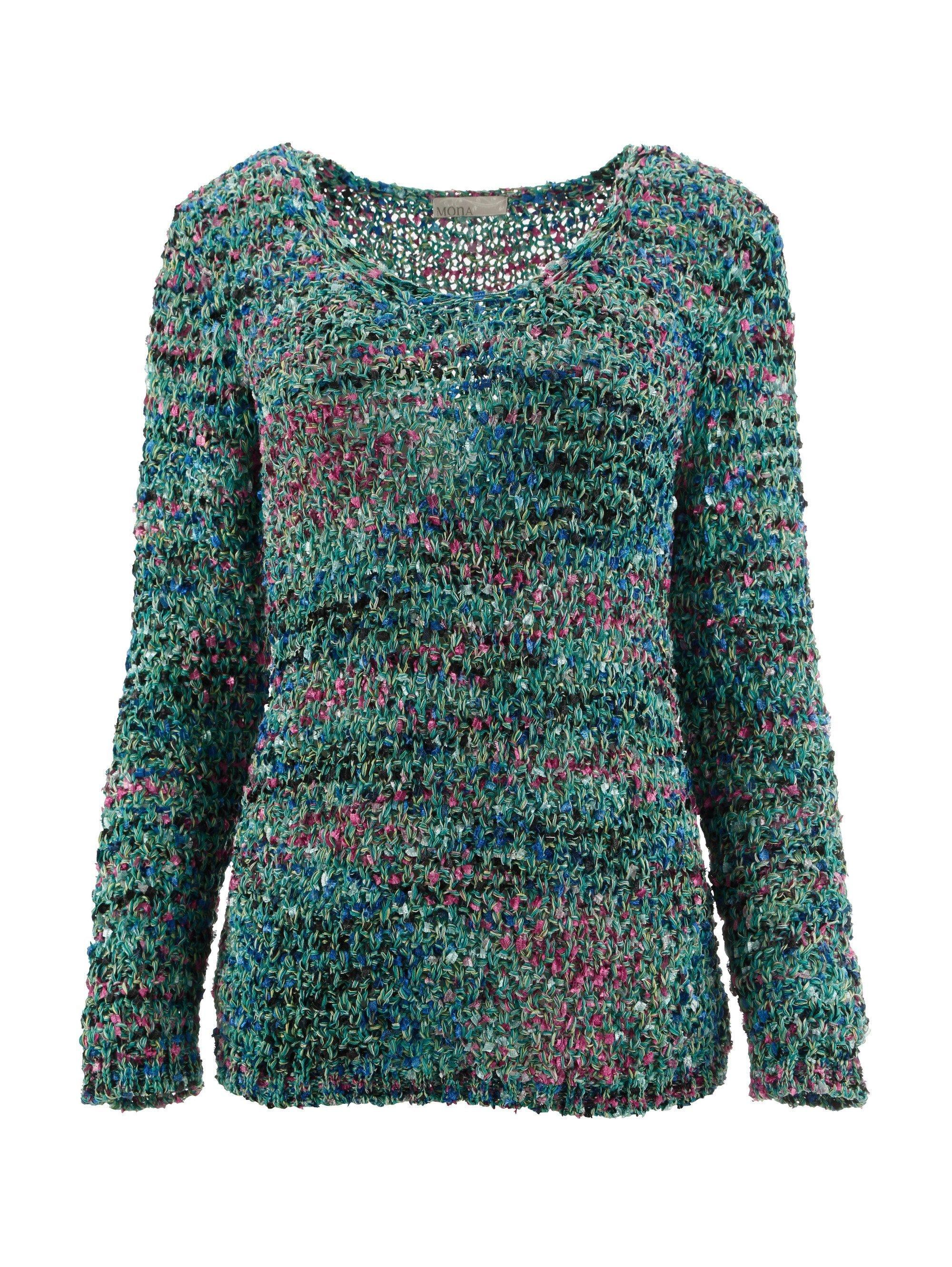 Mona Pullover mit Multicolor Effektgarn online kaufen