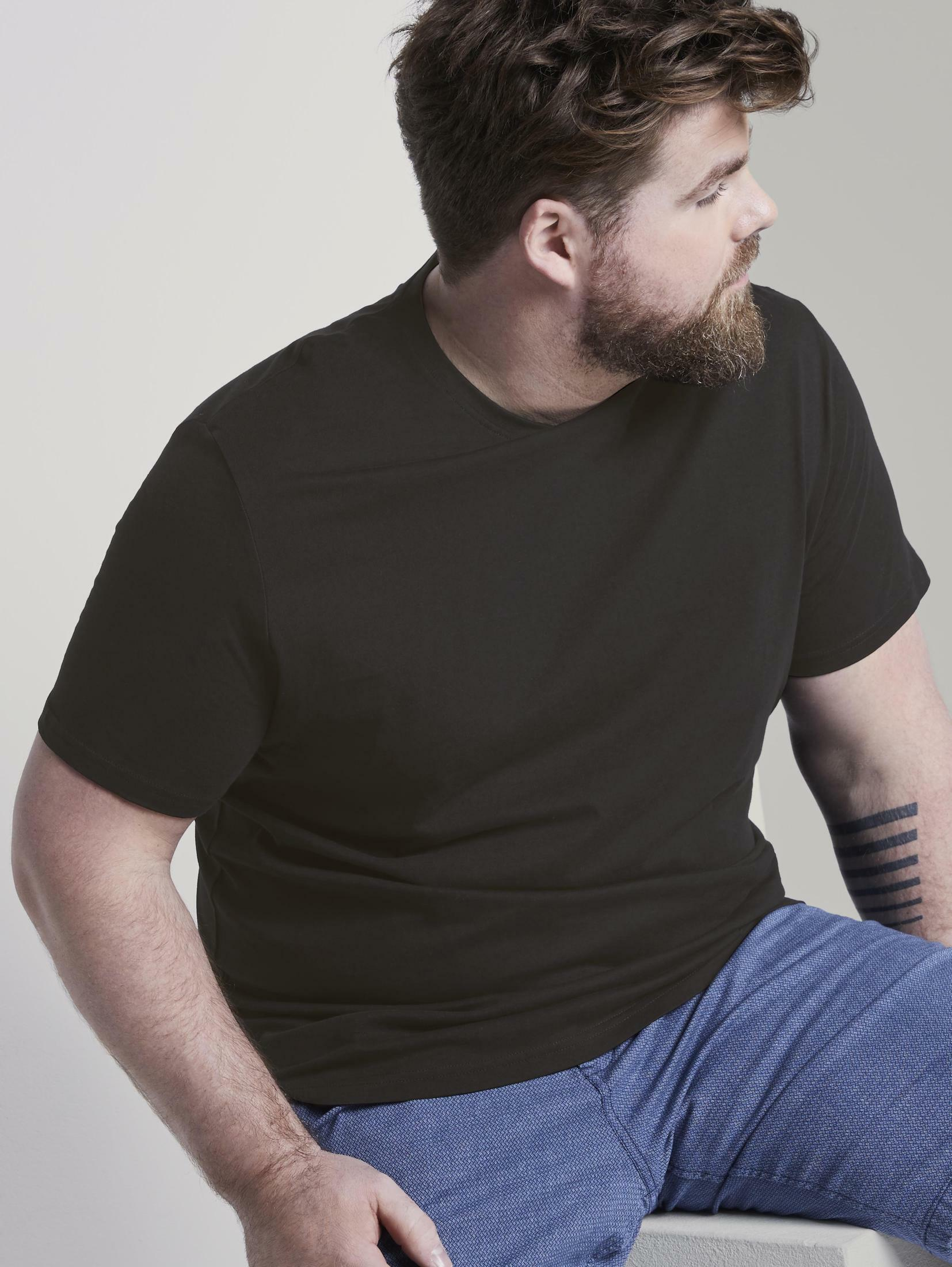 tom tailor men plus -  T-Shirt Doppelpack Basic T-Shirts