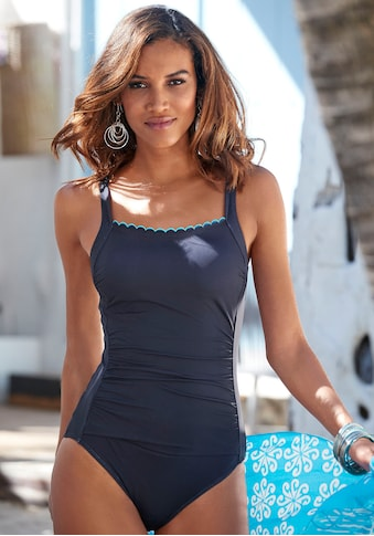 LASCANA Badeanzug »Camilla«, mit Farbkontrast kaufen