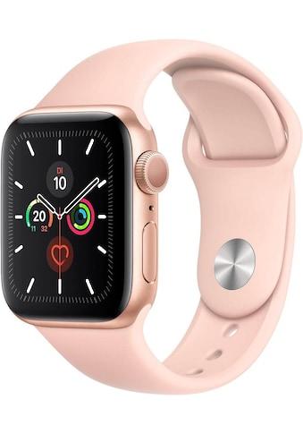 Apple Series 5 GPS, Aluminiumgehäuse mit Sportarmband 40mm Watch (Watch OS 6) kaufen
