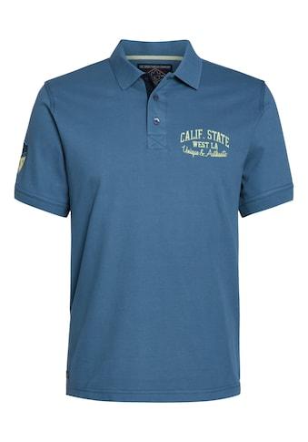 AHORN SPORTSWEAR Poloshirt mit modischer Stickerei kaufen